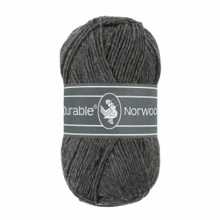 Durable Norwool antraciet 001
