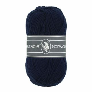 Durable Norwool donkerblauw 210