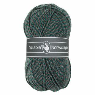 Durable Norwool Plus groen grijs melee M433