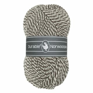 Durable Norwool Plus bruin wit melee M932