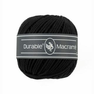 Durable Macramé Black 325