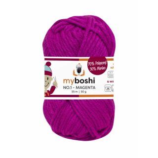 MyBoshi wol Nr 1 - magenta 162