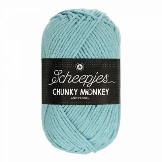 Scheepjes Chunky Monkey Powder Blue 1019