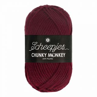 Scheepjes Chunky Monkey Maroon 1035