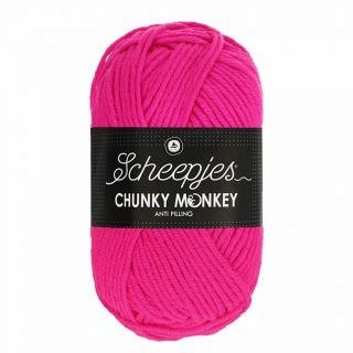Scheepjes Chunky Monkey Hot Pink 1257