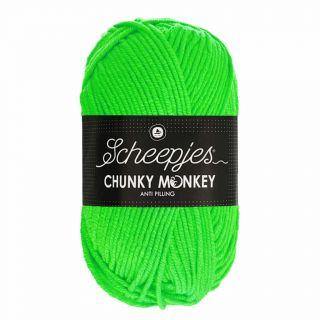 Scheepjes Chunky Monkey Neon Green 1259