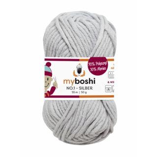MyBoshi wol Nr 1 - zilver 193