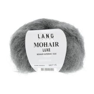 MOHAIR LUXE grijs melange