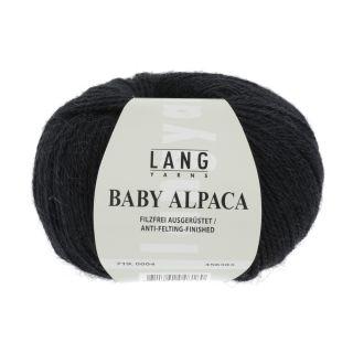 BABY ALPACA zwart