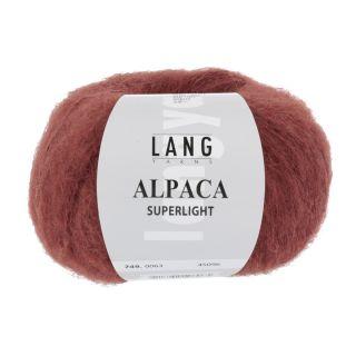 ALPACA SUPERLIGHT donkerrood
