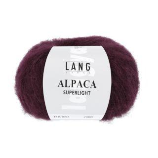ALPACA SUPERLIGHT bordeaux