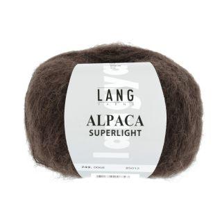 ALPACA SUPERLIGHT donkerbruin