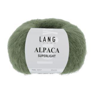ALPACA SUPERLIGHT olijf