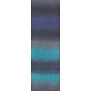 JAWOLL MAGIC DEGRADE blauw/grijs