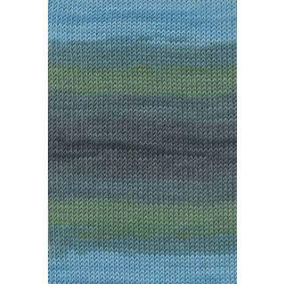 MERINO+ COLOR oceaan/grijs
