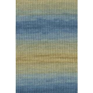 MERINO+ COLOR oker/blauw