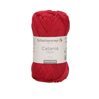 Catania katoen 2021 Beauty red - Schachenmayr