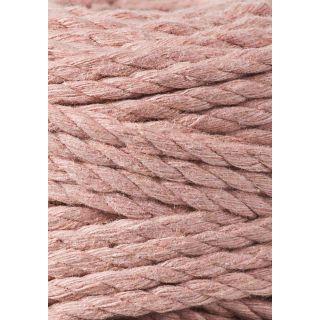Bobbiny Macrame Triple Twist 5 mm - Blush