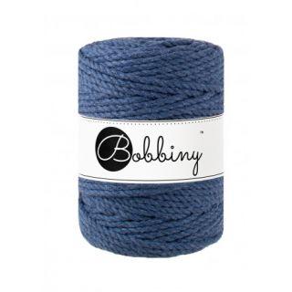 Bobbiny Macrame Triple Twist 5 mm - Jeans