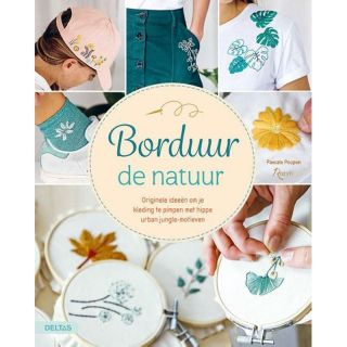 Borduur de natuur - borduurboek
