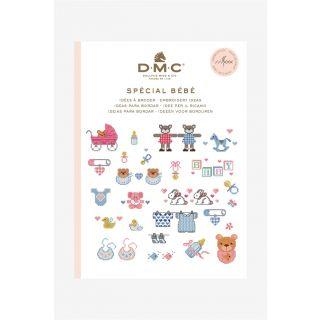DMC borduurboekje Baby inclusief borduurgaren