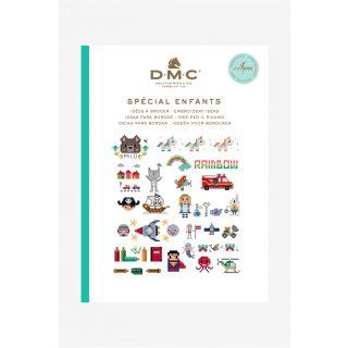 DMC borduurboekje Kinderen inclusief borduurgaren