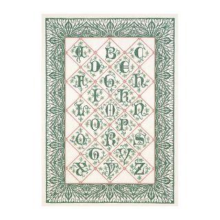 Borduurpakket 14de eeuws Alfabet Aida - Thea Gouverneur