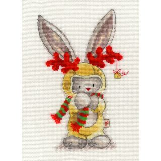 Borduurpakket Bebunni - Rudolf - Bothy Threads