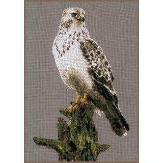 Borduurpakket Snowy Owl - Lanarte