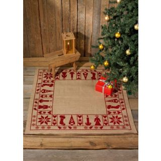 Borduurpakket Kleed Kerst Spirit  - Permin