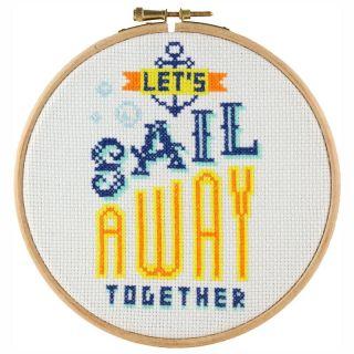 Borduurpakket Sail away together - Stitchonomy
