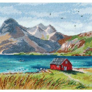 Borduurpakket Lofoten - Oven