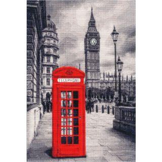 Borduurpakket London Motive - Golden Fleece Ltd