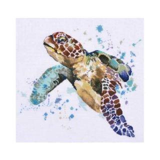 Borduurpakket Long-liver's grandeur - zeeschildpad - Oven