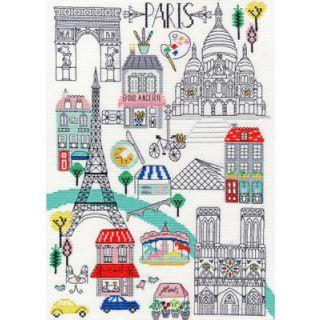 Borduurpakket Love London - Bothy Threads