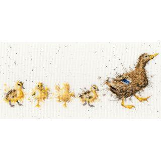 Borduurpakket Mother Duck - Bothy Threads