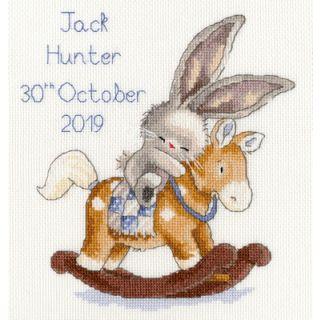 Borduurpakket Rock A Bye Bunny - Bothy Threads