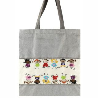 Borduurpakket tas Kinderen - Pako