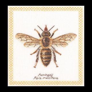Borduurpakket Honingbij Aida - Thea Gouverneur