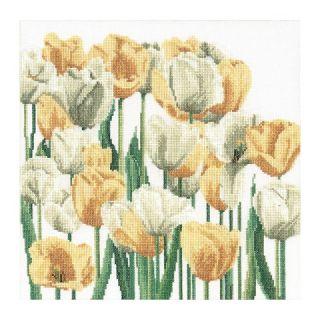 Borduurpakket Tulpen Linnen - Thea Gouverneur