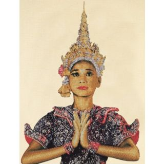 Borduurpakket Thaise Dame Aida - Thea Gouverneur