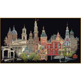 Borduurpakket Amsterdam Black Collection - Thea Gouverneur