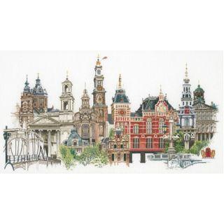 Borduurpakket Amsterdam Aida - Thea Gouverneur