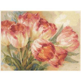 Borduurpakket Tulips - Alisa