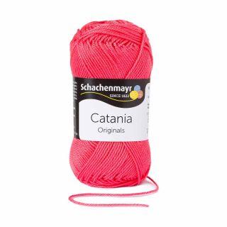 Catania katoen 256 raspberry - Schachenmayr