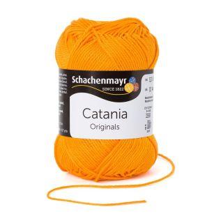 Catania katoen 411 Mango - Schachenmayr