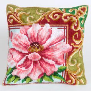 Kussen borduurpakket Luxurious Lily 1 - Collection d'Art