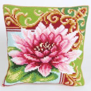 Kussen borduurpakket Luxurious Lily 2 - Collection d'Art