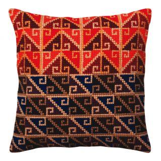 Kussen borduurpakket Peruvian ornament - Collection d'Art