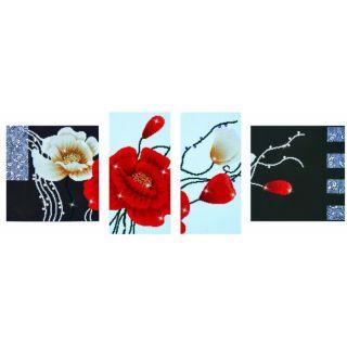 Diamond Dotz - Art Deco Poppies - Diamond Painting